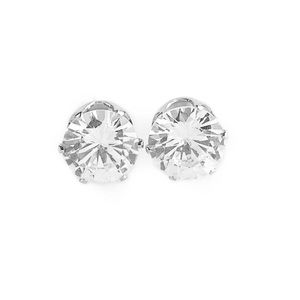 5 for $25! Paparazzi white stud earrings